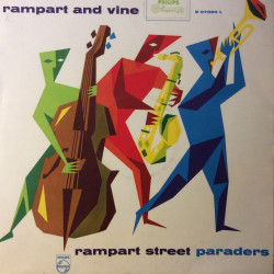The Rampart Street Paraders...