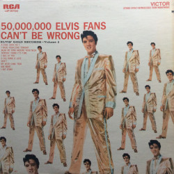 Elvis' Gold Records volume...